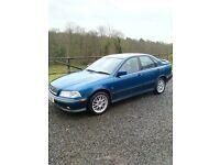 1999 volvo s40 T4 turbo**MOT EXPIRED**F.S.H.(turbo,gti,tdi,gttdi)
