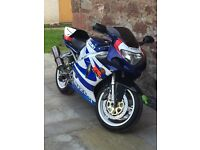 2000 GSXR750 k1, mot'd, serviced, great condition