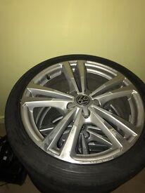 Genuine Audi A3 sline alloys for sale