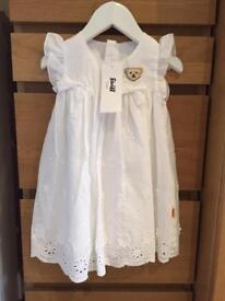 Designer Steiff dress size 80/ 9-12 months