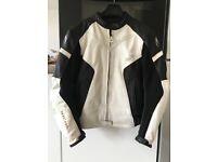 Women's Richa leather Odessa bike jacket size 14