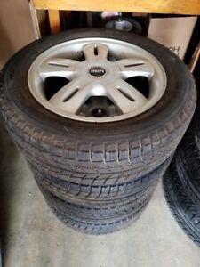 OEM Mini Cooper Wheel Set