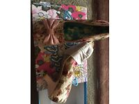 Gorgeous irregular choice shoes brand new in box
