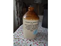 Stoneware Jar / Flask