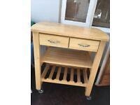 Marks and spencer butchers block / kitchen island