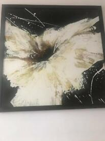 Abstract Lilly painting