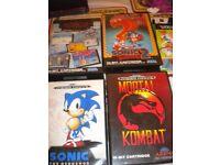 4 vintage Mega Drive games