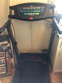 V fit running machine treadmill