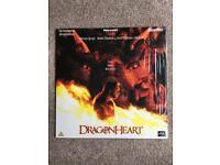 Dragon heart Laserdisc PAL