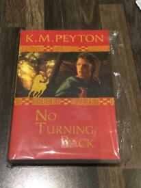 Brand new in packaging. No turning back by KM Peyton Usborne Book. £1.50. Torquay or can post