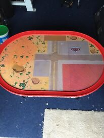 Disney Cars Radiator Springs play track, cars and table