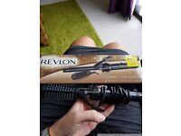 Revlon ceramic tong and brush