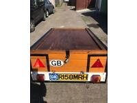 Lockable trailer