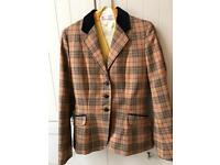 Foxley horse riding hunting showing jacket.