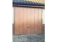 UPVC Oak effect garage door for sale