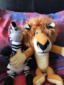 Talking Marty & Alex from Madagascar