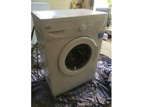 Slimline 6kg Beko washing machine