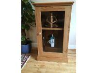 Pine drinks cabinet or Hi-fi unit
