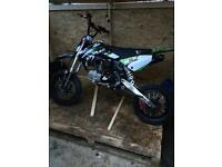 Demon x 140 pit bike 70 frame mint condition