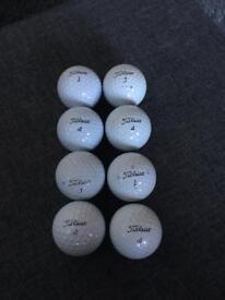 8 ProV1 golf balls