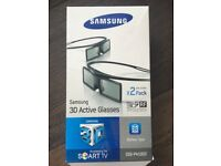 Samsung 3D Active Glasses x 2 pack - £10