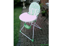 """Babystart"" high chair"