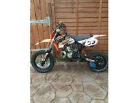 Ktm50 pro senior 2007 £950
