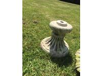 2 tier Water feature fountain pond