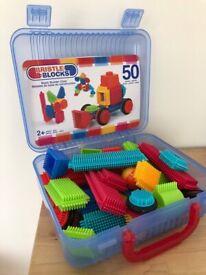 Bristle block 50 piece in carry case
