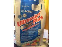 Mapei ultra colour plus grout and matching sealant.