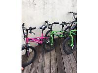 Job lot bmx bikes