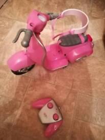 baby born motorcycle