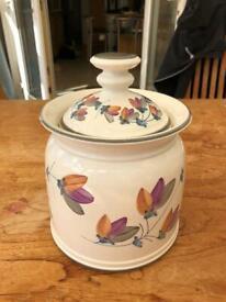 Biscuit barrel Iden Pottery