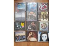 Collection of AOR and rock CDs