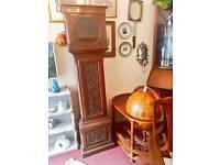 Antique oak longcase clock case