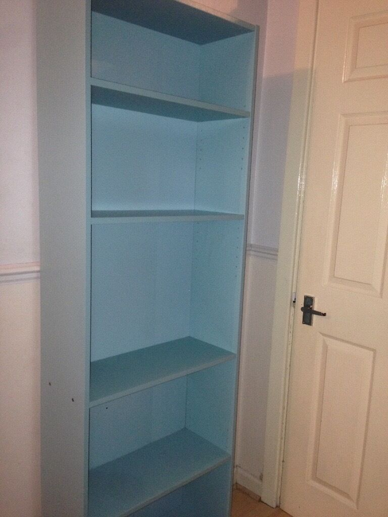 Ikea FINNBY Exclusive Light Turquoise Bookcase Bookshelf Almost New Can Also Deliver