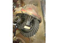 IVECO Stralis rear diff. 42550120. 177E Meritor DIFF. 2006.