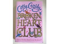 Cathy Cassidy - Broken Heart Club- Brand New paperback