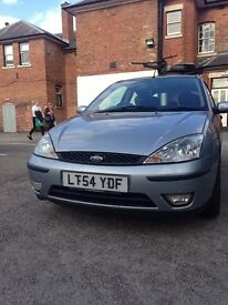 Diesel Ford Focus 2004 - Manual Silver