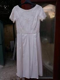Candy Anthony wedding dress size 10 - 12