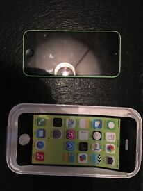 iPhone 5c Green. Great Condition