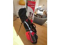 Golf clubs & bag for junior - ages 9-11. By Fazer J-Tek