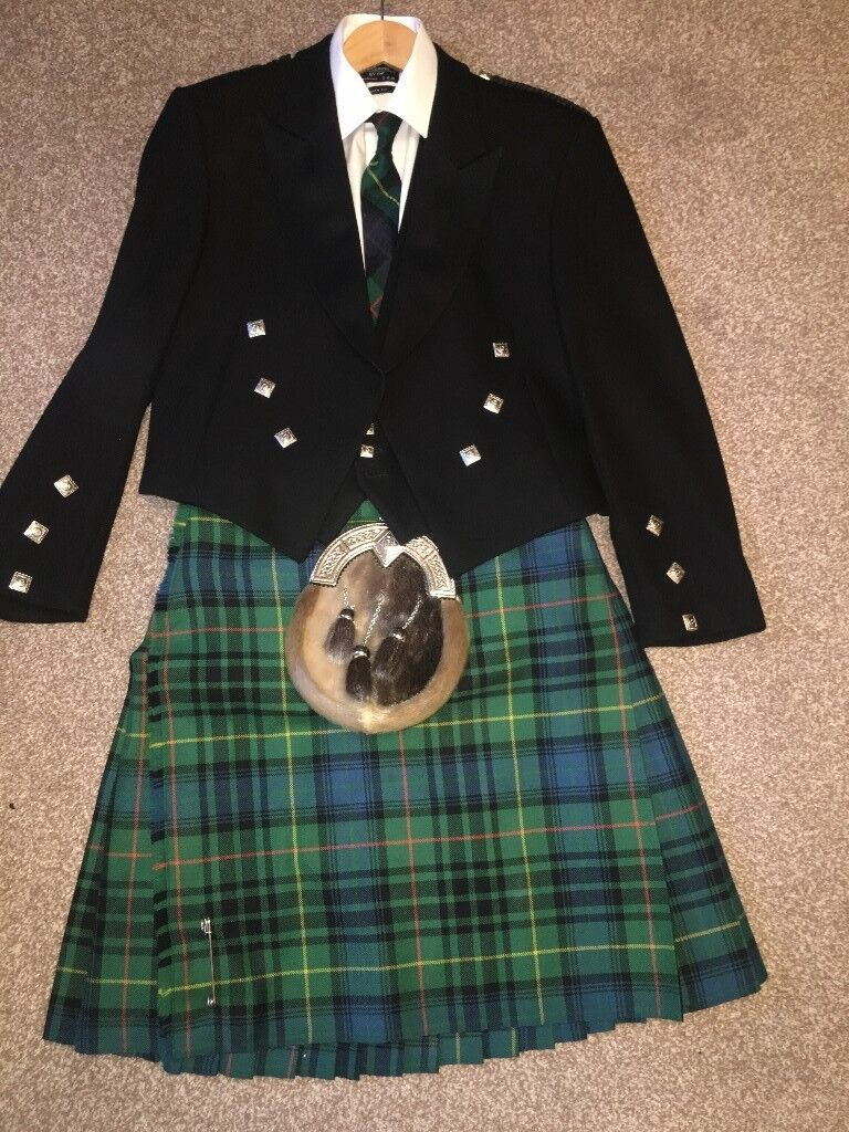 Gents kilt outfit (great for Burns Suppers)