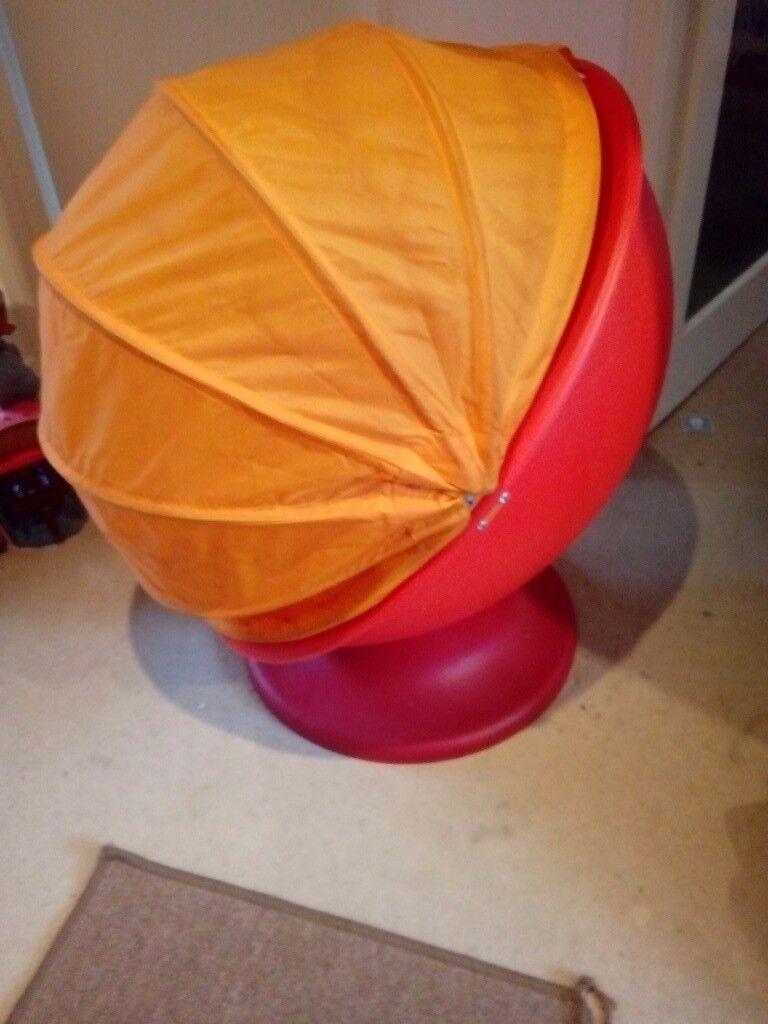 Ikea Kids Egg Chair In Lytchett Matravers Dorset Gumtree