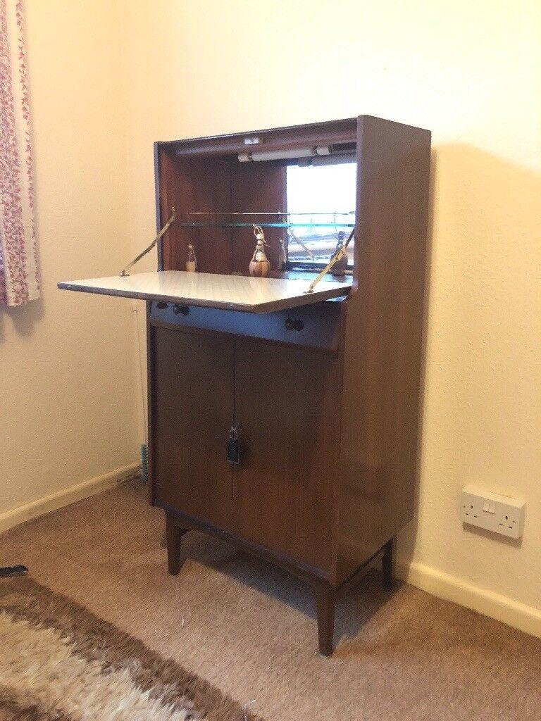 Free 60s 70s Cupboard Dresser Bureaux Vintage Retro In Salisbury