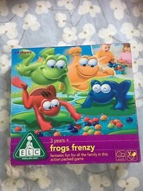 Immaculate condition ELC Frog Frenzy game
