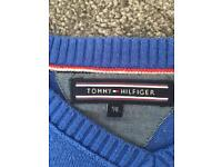 BOYS HILFIGER JUMPER & shirt