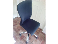 Office Chair in dark grey. Great condition.