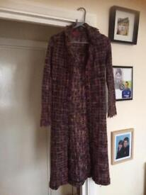 REDUCED Monsoon cardigan coat