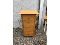 Marks & Spencer solid oak chest of drawers * free furniture delivery *